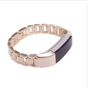 Gold Stainless Steel Fitbit Alta Watch Band